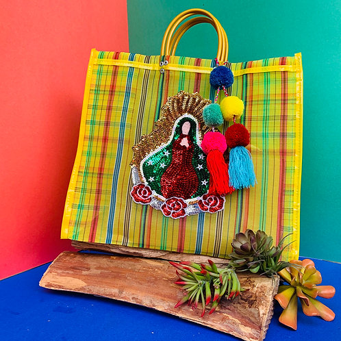 Guadalupe Tote - Yellow