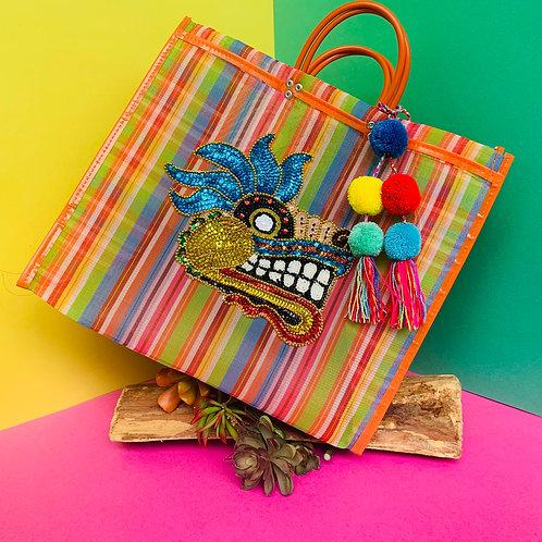 Quetzalcoatl Tote - Orange