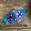 Thumbnail: Blue Mask - Purple Flowers
