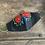 Thumbnail: Black Mask -  Red Peonies