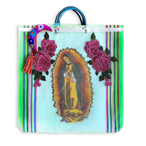 Lady Of Guadalupe - Green