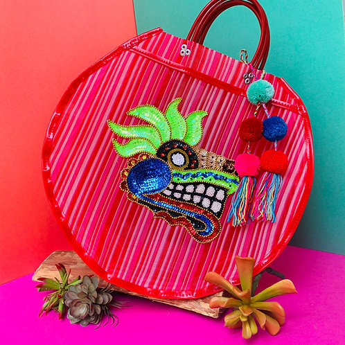 Quetzalcoatl Carry All - Hot Pink