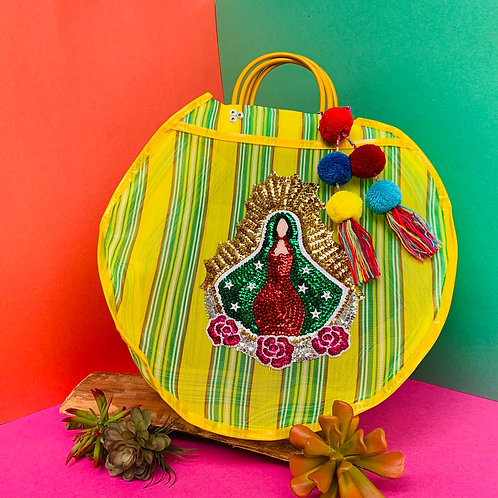 Guadalupe Carry All - Yellow & Green