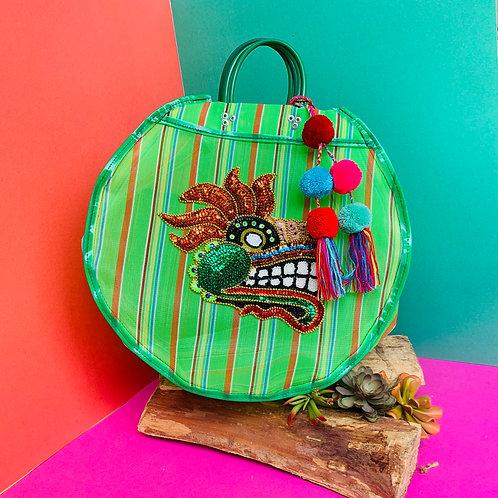 Quetzalcoatl Carry All - Green