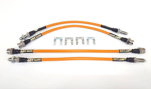 Mk1 Fiesta Braided Hose Kit