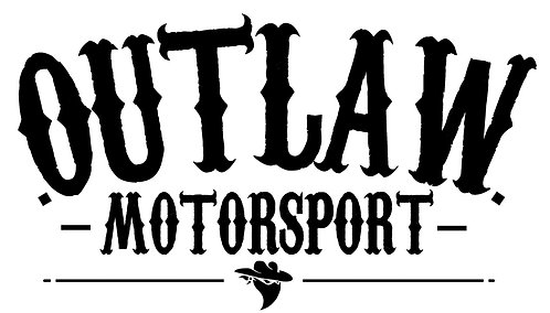Large Outlaw Window Sticker