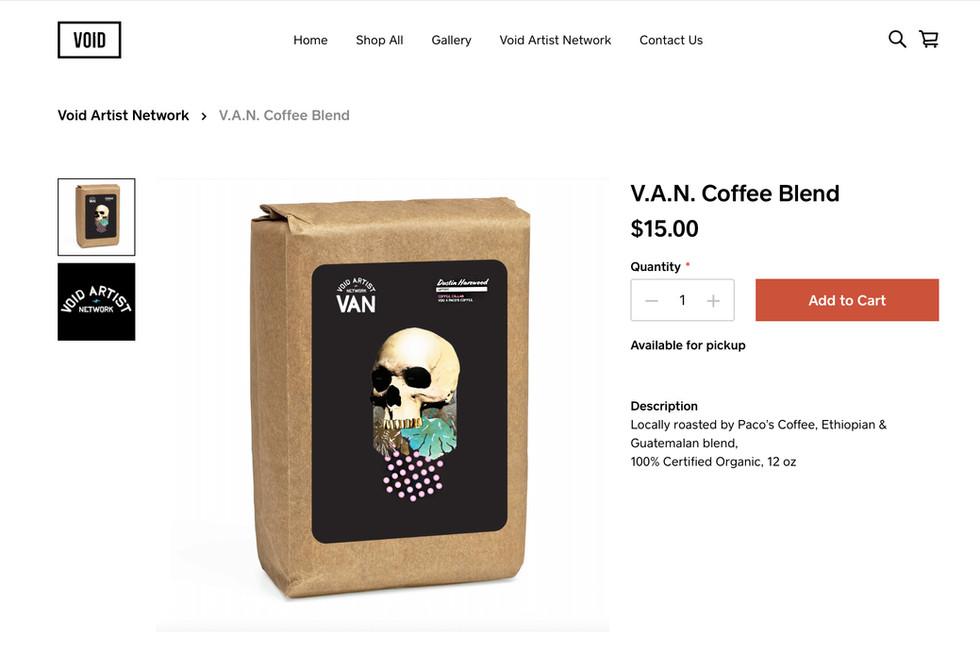 Void Artist Network Coffee Blend