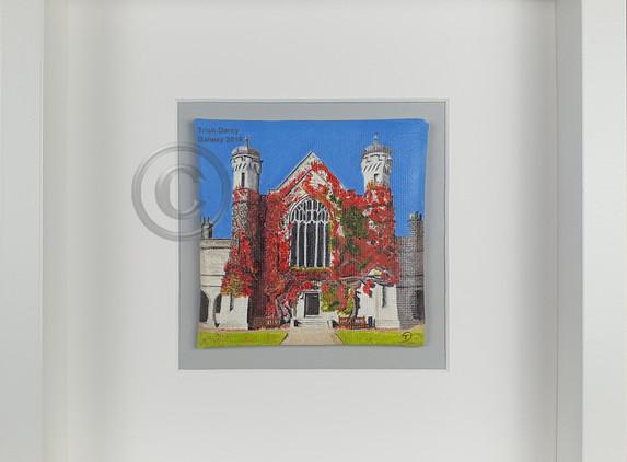 painting-miniature-oil-aula-maxima-nuig