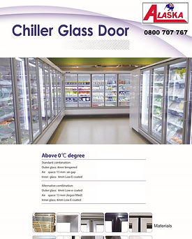 Glass cold room