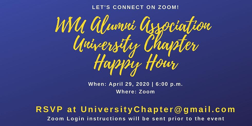 University Chapter Virtual Happy Hour