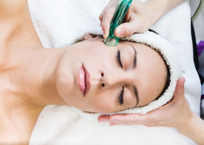 Cupping for face lift and rejuvenation