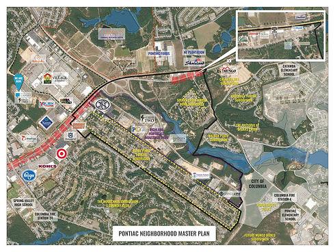 Pontiac Neighborhood Community Input Map