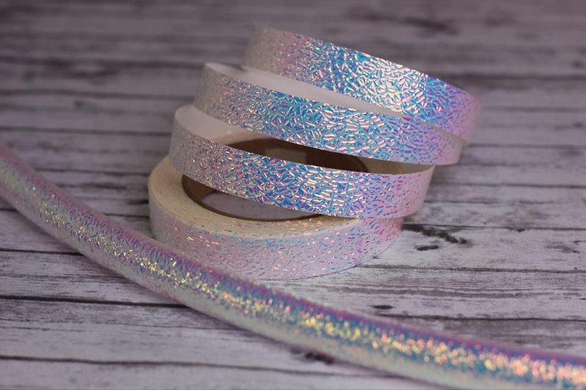 Unicorn Skin/Indigo Sunrise Textured Taped ColorShifting Polypro or HDPE Hoop