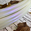 Thumbnail: Purple Opal White Color-Shifting Polypro Hoop
