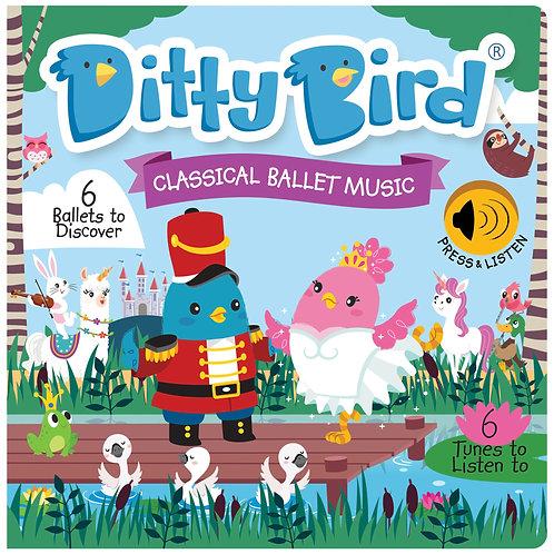 Ditty Bird Musical Book - Classical Ballet Music