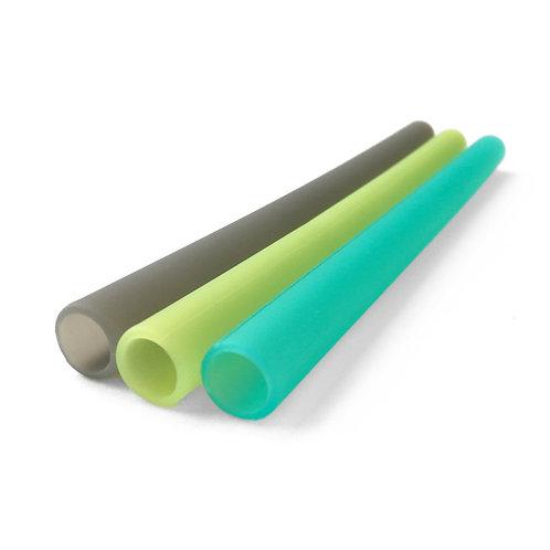 GoSili Reusable Extra Wide Silicone Straws (Milk Tea Straws)