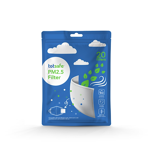 Totsafe PM2.5 Filter in packs of 20s