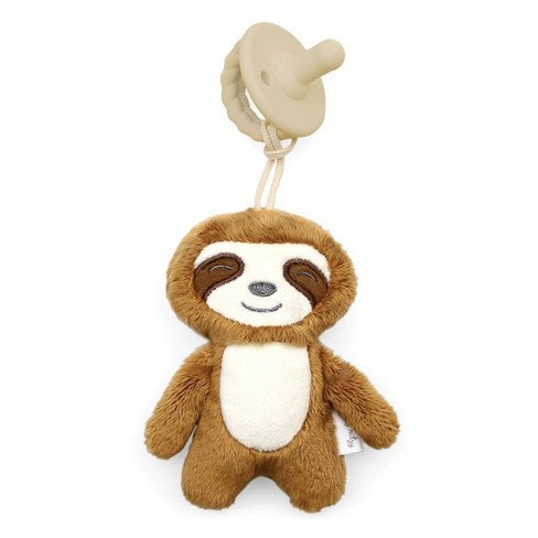 Itzy Ritzy Sweetie Pal Pacifier and Stuffed Animal (Sloth)