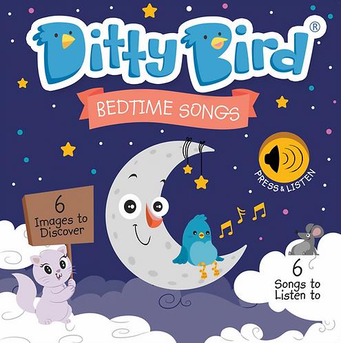 Ditty Bird Musical Book - Bedtime Songs