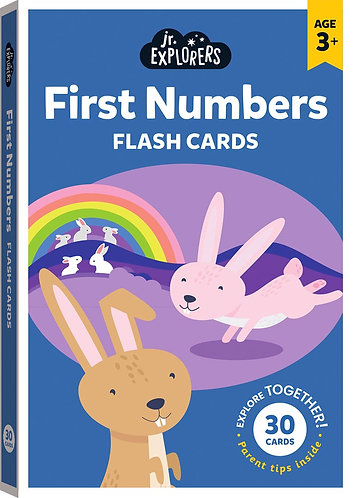 Junior Explorers: First Numbers Flash Cards (Large)