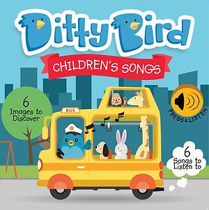 Ditty Bird Musical Book - Children's Songs