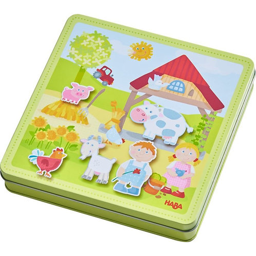 Haba Peter And Pauline's Farm Magnetic Game