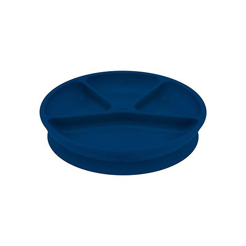 Green Sprouts Learning Plate Navy