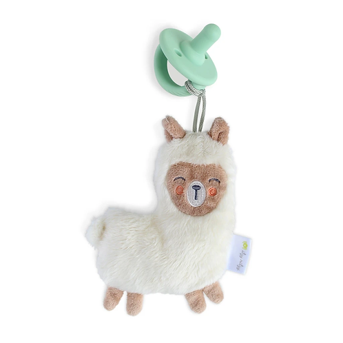 Itzy Ritzy Sweetie Pal Pacifier and Stuffed Animal (Llama)