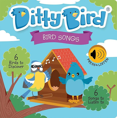 Ditty Bird Musical Book - Bird Songs