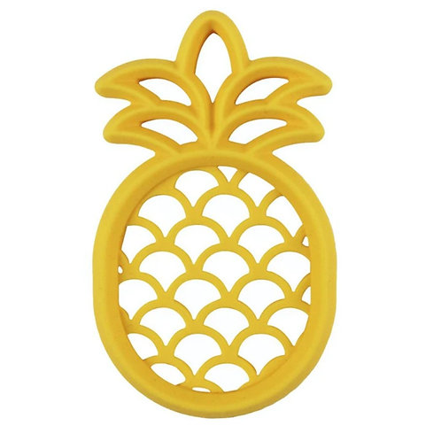 Itzy Ritzy Silicone Baby Teether - Pineapple