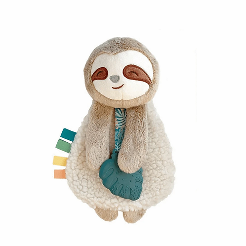 Itzy Ritzy Lovey Plush and Teether Toy (Sloth)