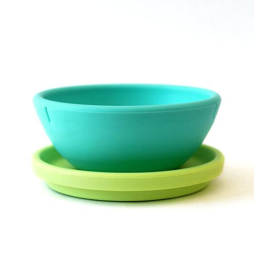 GoSili Silikids Silicone Bowl with Lid
