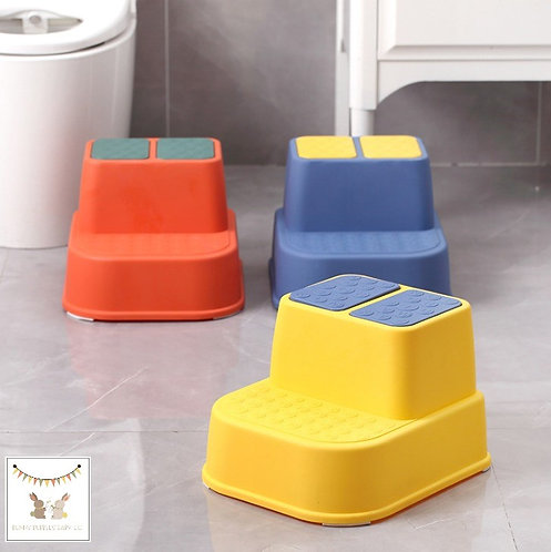 Bunny Bubbles Toddler Step Stool