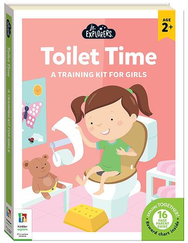 Junior Explorers Toilet Time for Girls
