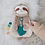 Thumbnail: Itzy Ritzy Lovey Plush and Teether Toy (Sloth)