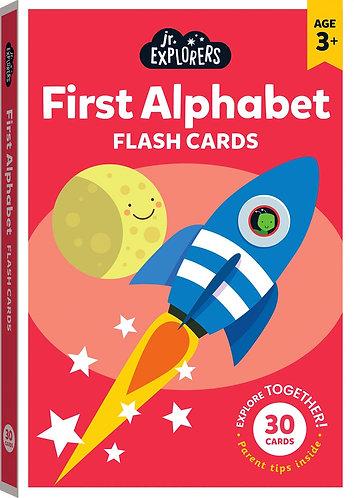 Junior Explorers: First Alphabet Flash Cards (Large)