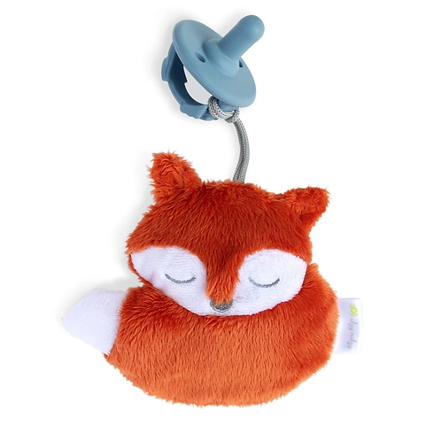 Itzy Ritzy Sweetie Pal Pacifier and Stuffed Animal (Fox)