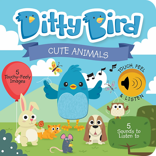 Ditty Bird Musical Book - Cute Animals