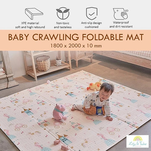 Lily and Tucker Studios Baby Foldable XPE Mat