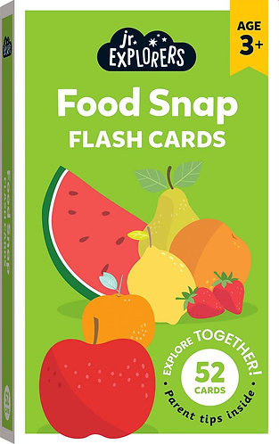 Junior Explorers: Food Snap Flash Cards