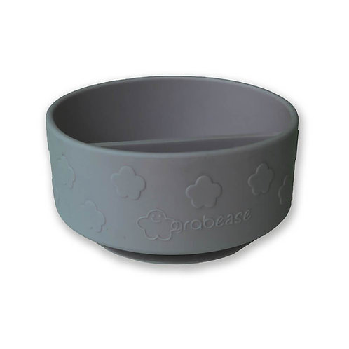 Grabease Silicone Suction Bowl Gray