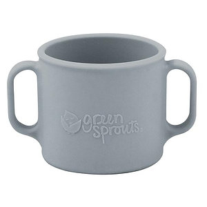 Green Sprouts Learning Cup Gray