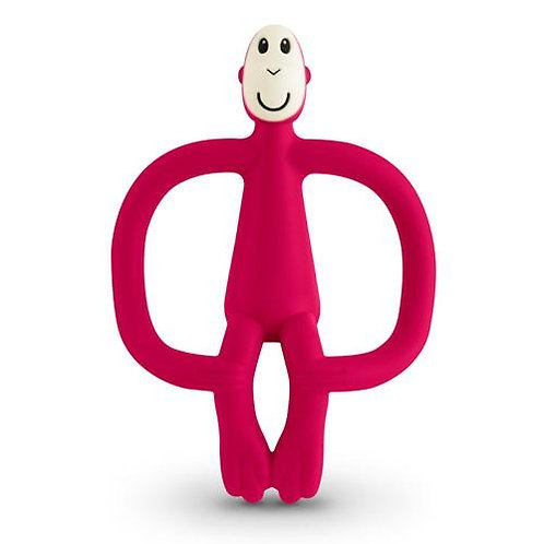 Matchstick Monkey Teething Toy Rubine Red