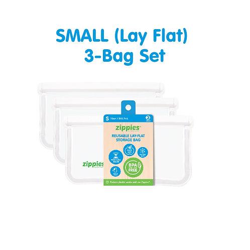 Zippies Reusable Lay Flat Bags