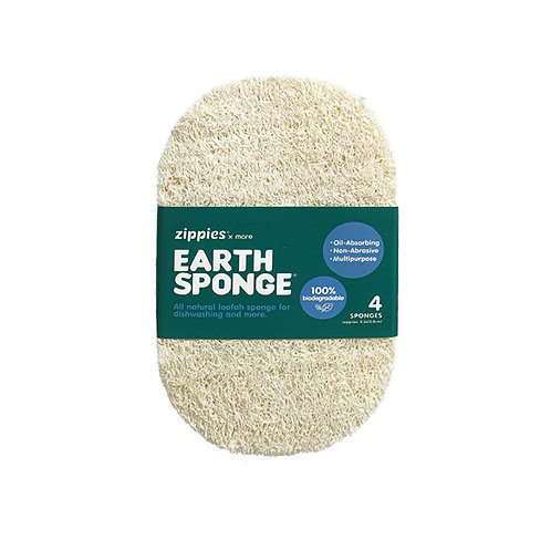 Zippies Earth Sponge