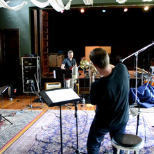 at the Monestary Recording Studio