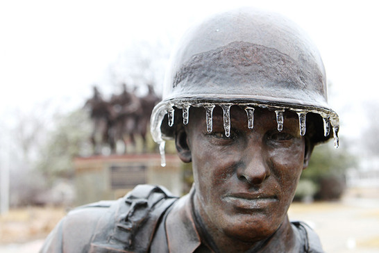Ice at Veterans Park