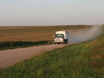 Gravel roads of rural Dodge County