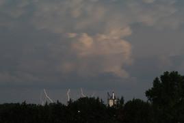 Lightning over North Bend