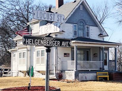 Childhood home of Marg Helgenberger